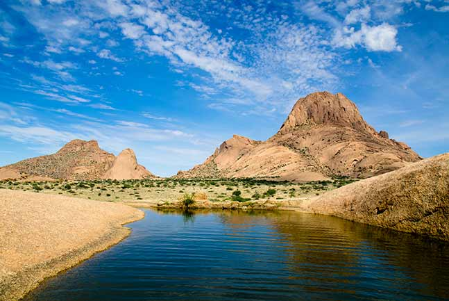 Spitzkoppe Mountain