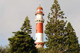 Lighthouse in Swakopmund