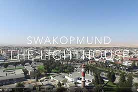 Arial Video of Swakopmund