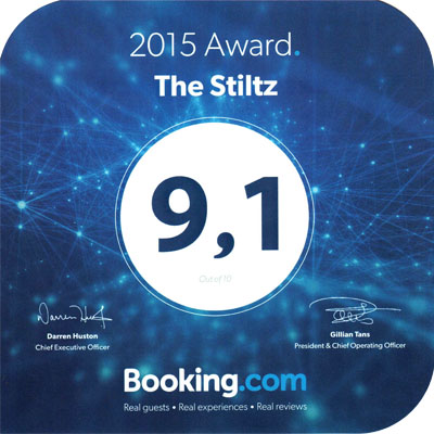 The Stiltz Booking.com Award